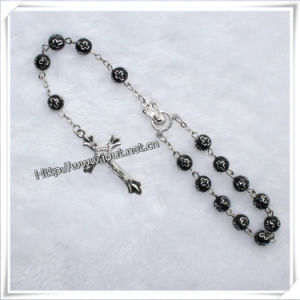 Handmade Resin Cross Beads Car Rosary for Cemetery (IO-CB010) pictures & photos