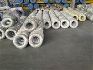 Galvanized Iron Wire From Factory in China pictures & photos