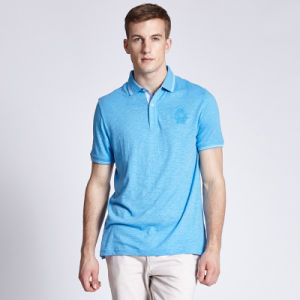 Customized Design Comfort Short Sleeve Plain Fitness Cotton Golf Polo Shirt for Men pictures & photos