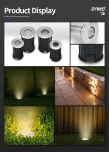 304 Stainless Steel LED Underground Light 1W 3W LED Inground Light for Garden