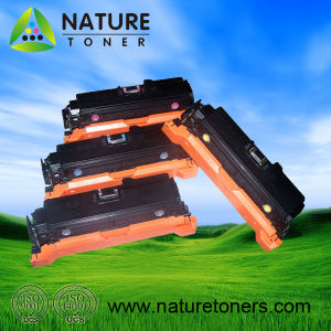 Color Toner Cartridge for HP CE250X, CE250A, CE251A, CE252A, CE253A pictures & photos