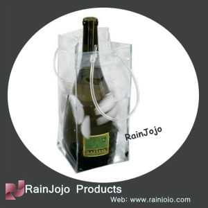 Favorites Compare PVC Ice Bag for Wine, PVC Wine Cooler Bag pictures & photos