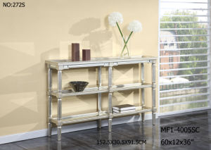 New Customized Console Table with Clear Mirror for Hotel pictures & photos