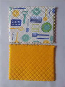 Yellow Sponge Cleaning Pad (JL-183)