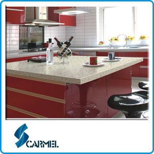 Superb Artificial Quartz Stone For Polymer Countertops With High Quality Hardness