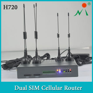 Huawei 4G Router with Dual SIM Card Slots Portable in Industrial