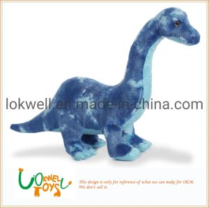Plush Blue Long Neck Dinosaurs Stuffed Toys