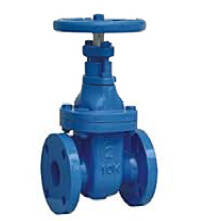 Non-Rising Stem Metal Seated Stem Gate Valve JIS-10k