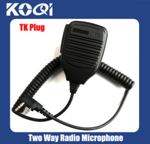 Two Way Radio Portable Speaker Microphone Kmc-17 for Walkie Talkies pictures & photos