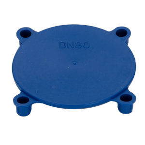 Plastic Push-in Flange Covers pictures & photos
