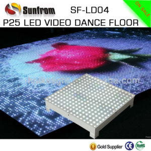Guangzhou Best Price High-Tech P25 LED Video Flooring pictures & photos