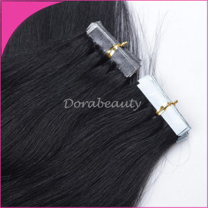 Virgin Remy European Tape Hair Extensions pictures & photos