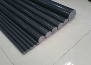 PVC Rod, Polypropylene Rod, Plastic Rod with White, Grey Color pictures & photos