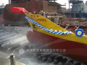 Shipyard Use Inflatable Rubber Marine Lauching Airbags for Launching Landing Ships From Manufacturer in China pictures & photos