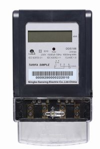 Electronic Single Phase Energy Meter (LCD)