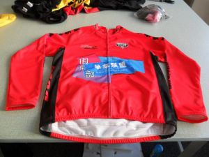 100% Polyester Fleece Customized Sublimation Print Cycling Jacket