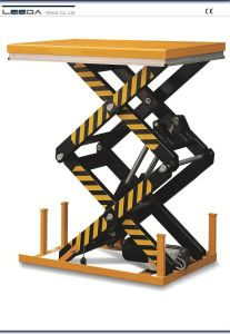 Double Scissor Lift Table (HL-D SERIES) pictures & photos