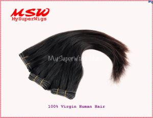 Natural Black Virgin Human Hair Weavings pictures & photos
