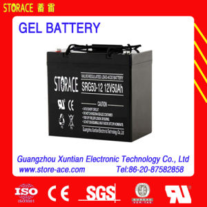 12V 50ah Storage Gel Batteries Made in China pictures & photos