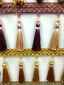 High Quality More Colors Tassel Fringe for Curtain Lace pictures & photos