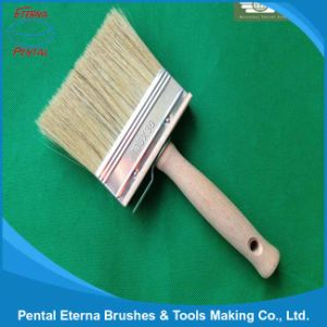 Shxb-0022 Wooden Handle White Bristle Ceiling Brush pictures & photos
