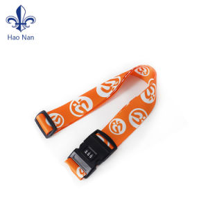 Cheap Price Custom Useful Woven Luggage Durable Belt Strap pictures & photos