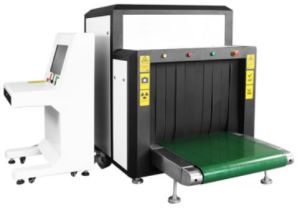 Security Checking Inspection Airport Hotel Using X Ray Baggage Parcel Bag Scanning Scanner Machine
