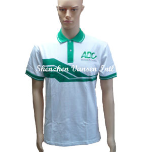 Custom Cotton Printing Polo Shirt with Embroidery Logo pictures & photos