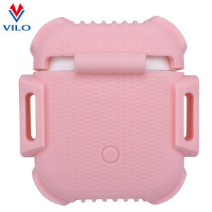 5edaf263133 China Premium Soft Silicone Cover Case Fancy Pink for Apple Airpods ...