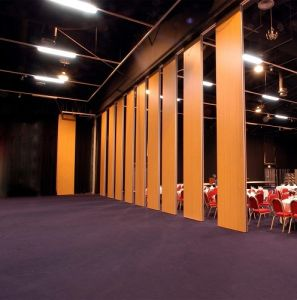 Hanging System Sound Proofing Folding Acoustic Room Divider For Hotel