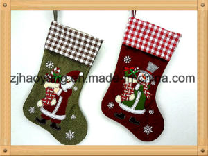 wholesale burlap material 19 christmas stocking for home decor - Burlap Christmas Decorations Wholesale