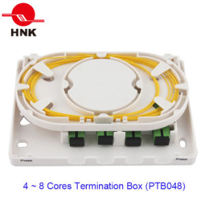 4 Ports Fiber Optic Cable Termination Box pictures & photos