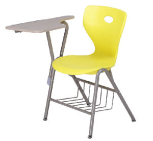 Multi Function Color Plastic School Chairs with Tablet