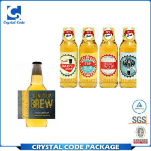 picture about Printable Beer Labels named Custom made Published Beer Bottle Stickers Labels