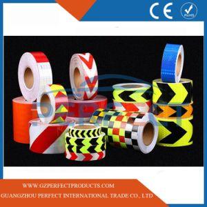Orange Reflective Tape Weatherproof Adhesive 50mm x 3m