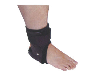 Running Basketball Compression Sleeve Ankle Straps Wrap for Injury Recovery Sprains