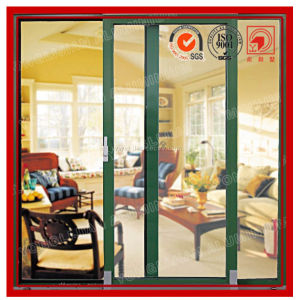 Double Sliding Patio Aluminum Glass Door pictures & photos
