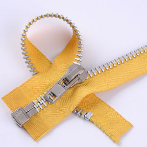 Open End Metal Zipper with a/L Slider pictures & photos