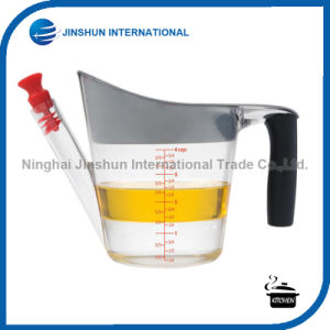 4-Cup Fat Separator Measuring Cup with Strainer