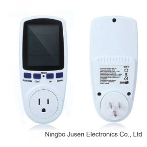 Multi-Functional Energy Saving Power Meter Socket pictures & photos