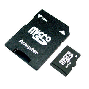 4GB Micro SD Card with Adaptor for Mobile Phone (CGTF00412)