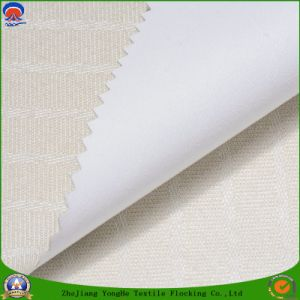 Home Textile Coated PVC Waterproof Fr Blackout Woven Polyester Curtain Fabric pictures & photos