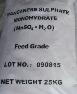 Mnso4. H2O (Manganese Sulphate Monohydrate) 31.8% Feed/Fertilizer Grade pictures & photos