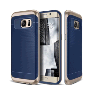 for Samsung Galaxy S7 Edge Grip Cover Navy Blue Plastic Case pictures & photos