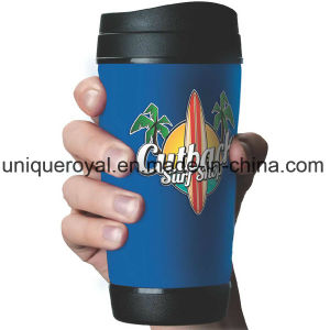 17 Oz. Polypropylene Mug with Removable Sleeve pictures & photos