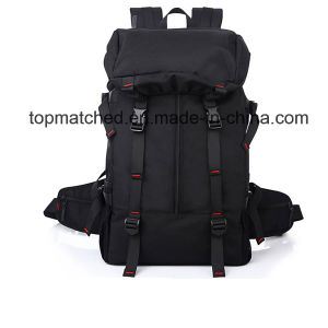 Wholesale 600d PVC 50L Gym Bag Mountaineer Casual Backpack Hiking pictures & photos