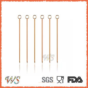 Ws-P1 Stainless Steel Fruit Pick Cocktail Pick