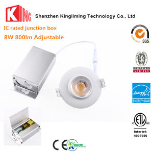 Natural White Gimbal Downlight 8W LED Recessed Can Lights