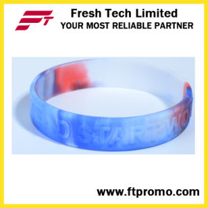 Eco-Friendly Wholesale Silicone Wristband for Logo Embossed pictures & photos
