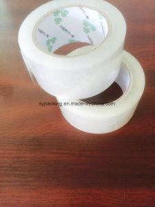 48mic Water Based Acrylic Adhesive Clear BOPP Packing Tapes 120rolls in a Carton pictures & photos